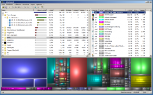 """Hier sieht man den Screenshot von dem Tool: """"WinDirStat""""."""